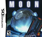Moon (Nintendo DS, 2009) nice complete + manual (no stickers)