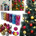 Christmas Decor Baubles Tree Xmas Balls Party Wedding Ornament 24pcs