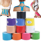 One Roll/5m Elastic Kinesiology Sports Tape Muscle Pain Care Therapeutic 2.5/5cm