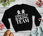Christmas Baking Team Jumper - Food Cooking Family Sweatshirt Funny Xmas Top