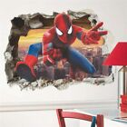 Spiderman Cartoon Movie Super Heroes Wall Stickers For Kids Bedroom decoration