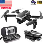 S171 Pro FPV Mini Foldable Drone With 4k HD Dual Camera Wifi 2.4G RC Quadcopter