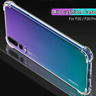 For Huawei P40 Lite P30 Pro P20 Mate 20 Clear Shockproof Silicone Flexible Case
