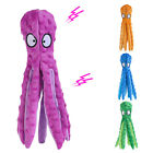 8 Legs Octopus Soft Stuffed Plush Squeaky Dog Squeakers Toy Dog Chew Bite Toy