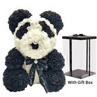 Lovely Foam Rose Teddy Bear Valentines Day Birthday Anniversary Gift with Box