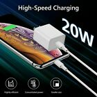 For iPhone 12 Pro Max/Mini/18W 20W USB Type C Fast Wall Charger PD Power Adapter