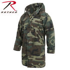 WOODLAND CAMO VINTAGE M-51 FISHTAIL PARKA 100%WASHED COTTON COAT FABRIC-NO LINER