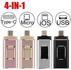 Pendrive 128 64 32 GB USB 3.0 3 in 1 chiavetta USB Iphone Android PC tablet ios
