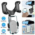 QI Wireless Car Phone Charger Charging Pad Mat for iPhone Samsung Apple Watch