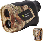 TIDEWE Hunting Rangefinder with Rechargeable Battery, 700/1000Y Realtree Xtra Ca