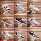 Thom Browne Mens Board Sneakers outdoor Shoes Lace up Non-slip Walking Casual