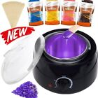 Professional Wax Warmer Heater Hair Removal Depilatory Waxing Kit Beans Sticks