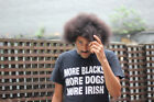 More Blacks More Dogs More Irish T-Shirt - Phil Lynott Rock