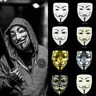 Anonymous Hacker Vendetta Guy V Cosplay Mask Cosplay Costume Party Masks Prop