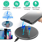 QI Wireless Charger Fast Charging Pad Mat Station For iPhone 12 Pro Max Mini 11