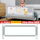 59/71/79  Baby Bed Fence Safety Gate Barrier Crib Rail Security Playpen