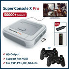 Super Console X PRO 4K WiFi HDMI TV Box Video Game Console For PS1/N64/DC/NDS