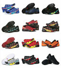 outdoor jogging Mens Salomon Speedcross 4 Athletic Running Hiking Sneakers Shoes