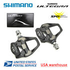 Shimano Ultegra PD-R8000 Standard and +4mm SPD-SL Road Carbon Pedal with SM-SH11