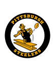Pittsburgh Steelers corn hole set of 2 decals ,Free shipping, Made in USA #2