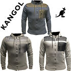 MENS CASUAL JACKET HOODED CHEST POCKET FULL ZIP LIGHTWEIGHT DRAWSTRING SLIM FIT
