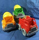 Green Toys 100% recycled 2 Mixer Vehicle& 1 Fire Truck, USA made 2 yrs+ you pick