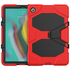 """For Samsung Tab S5e S6 S7 10.5"""" 11"""" Case Rubber Military Screen Protector Cover"""