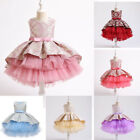 New Design Embroidery Girls Bridesmaid Princess Dress Party Gift Wedding Dresses