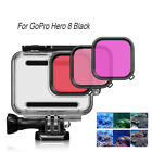 Red Lens Filter Protective Shell Diving Housing Cover For GoPro Hero 8 Black