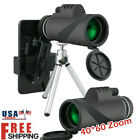 40x60 Zoom Clip-on Optical Telescope Camera Lens w/ Tripod For Mobile Phone