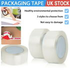 2/4/6 Rolls Brown Clear Packaging Parcel Packing Tape Strong 48mm x 66m Fragile