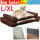 Orthopaedic Soft Dog Pet Warm Sofa Bed Pillow Cushion Chair with Non-Slip Bottom