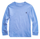 Polo Ralph Lauren Kids Cotton T Shirt Top Long Sleeve Crew GENUINE Age 2-18 New