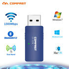 1200Mbps wireless WiFi adapter Band 5G/2.4G USB 3.0 Bluetooth PC for win10/7/8