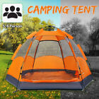 5-8 Person Instant Up Family Large Camping Tent Waterproof Outdoor Hiking Travel