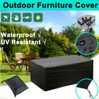 Waterproof In/outdoor Furniture Cover Rain Uv Garden Couch Lounge Sofa Protector