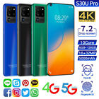 """7.2"""" Android 10.0 Smartphone 2021 Unlocked 5g-lte Mobile Phone Dual Sim 10 Core"""