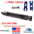 EnergyX 10A 15A 20A 30A MC4 Waterproof in-Line Holder w/Fuse + FREE TOOLS!