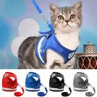 Small Pet Dog Puppy Cat Harness Breathable Soft Mesh Vest Walking Lead Leash
