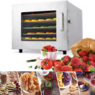 New Stainless Steel 6 Trays Industrial Food Dehydrator Dryer Drying Machine