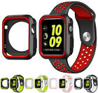 New TPU Case Flexible Rubber Trim Cover for Apple Watch Series 3, 42mm