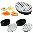 Cheese Grater Vegetable Fruit Food Stainless Steel Grater with Container LN