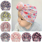Children Knitted Caps Bow Knot Indian Hats Baby Turbans Birthday Wedding Party