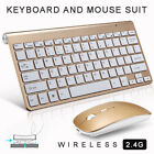 Wireless Keyboard  2.4Ghz Optical and Mouse Combo For iPad iMac Tablet PC S2