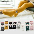 Knit Children Pantyhose Cute Cartoon Animal Patch Double Needle Tights For Girl