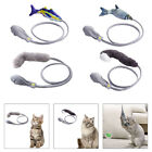 Flopping Moving Fish Cat Toys Catnip Soft Interactive Playing Kitten Toy