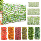 Expanding Hedge Ivy Leaf/Red Maple Garden Fencing Trellis Privacy ScreeningFence