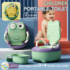 Portable Baby Potty Kids Children Training Toilet Trainer Stool With Cushion New