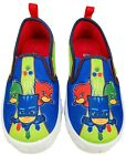 PJ MASKS Canvas Slip-On Sneakers Athletic Shoes Toddler's 7 8 9 10 or Boys 11 12