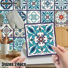 Retro Mosaic Tiles Ceramic Tile Wall Stickers Home Decoration Self-adhesive